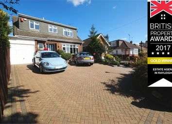 Thumbnail 3 bed detached house for sale in Whitehouse Road, Show Home Condition, Leigh-On-Sea, Essex