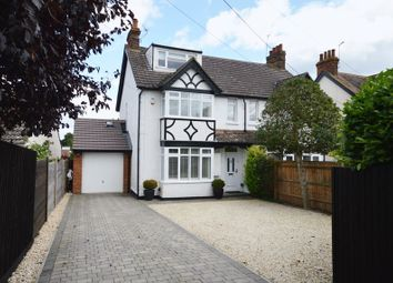 Thumbnail 4 bed semi-detached house for sale in Wendover Road, Weston Turville, Aylesbury