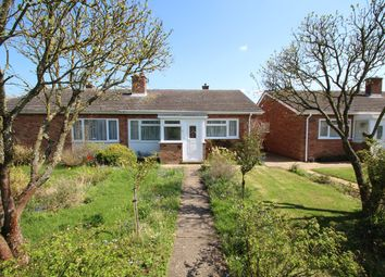 Thumbnail Semi-detached bungalow for sale in Birch Close, Stowupland, Stowmarket