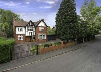 Thumbnail 4 bed detached house for sale in Newbridge Crescent, Newbridge, Wolverhampton