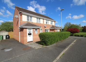 Thumbnail 2 bed semi-detached house for sale in Wensum Close, Oakham