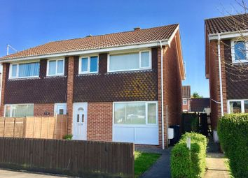 Thumbnail 3 bed semi-detached house for sale in Meda Vale, Worle, Weston-Super-Mare