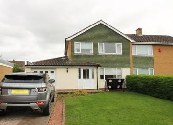 Thumbnail 3 bed semi-detached house for sale in Netherby Drive, Lowry Hill, Carlisle