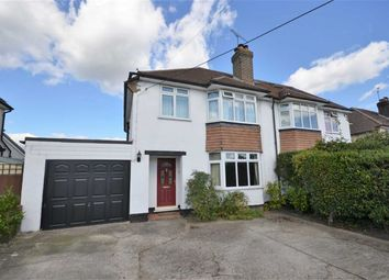 Thumbnail 3 bed semi-detached house for sale in Lower Weybourne Lane, Farnham