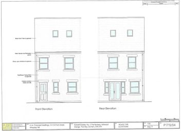 Thumbnail 4 bed detached house for sale in Moor View, Wheatley Hill, Durham