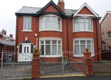 Thumbnail 4 bed semi-detached house for sale in Honister Avenue, Blackpool