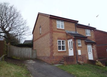 Thumbnail 2 bed semi-detached house to rent in Coed-Y-Felin, Barry
