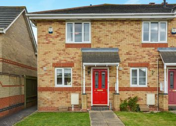 Thumbnail 2 bed end terrace house for sale in The Canons, Newport Pagnell