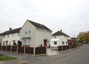 Thumbnail 3 bed end terrace house for sale in Bournmoor Avenue, Clifton, Nottingham