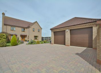 Thumbnail 4 bed detached house for sale in Station Road, Littleport