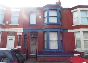 Thumbnail 3 bed terraced house for sale in Fareham Road, Liverpool, Merseyside, England