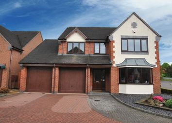 Thumbnail 4 bed detached house for sale in Goldcrest Grove, Apley, Telford, Shropshire