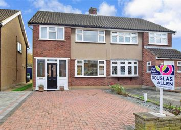 Thumbnail 3 bedroom semi-detached house for sale in Oxford Avenue, Hornchurch, Essex