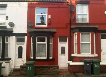 Thumbnail 2 bedroom terraced house for sale in Harrowby Road, Tranmere, Birkenhead