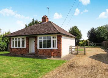 Thumbnail 2 bed detached bungalow for sale in Church Lane, Stibbington, Peterborough