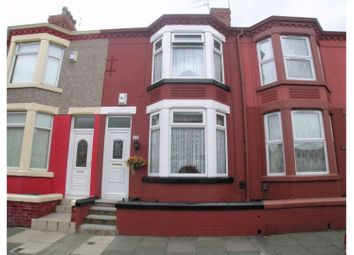 3 bed terraced house to rent in Grasville Road, Tranmere, Birkenhead CH42