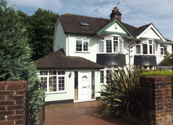 Thumbnail 4 bedroom semi-detached house for sale in Summerfield Road, Shiphay, Torquay