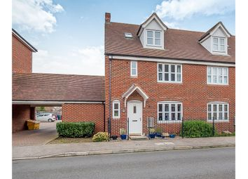 Thumbnail 4 bed town house for sale in Violet Way, Yaxley, Peterborough