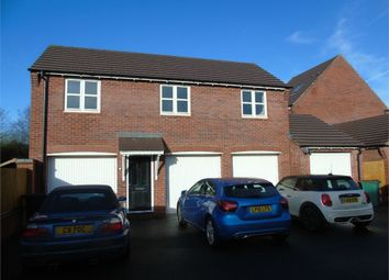 Thumbnail 2 bed flat to rent in Usbourne Way, Ibstock