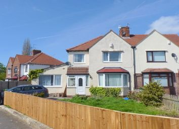 Thumbnail 3 bed semi-detached house to rent in Calveley Avenue, Eastham, Wirral