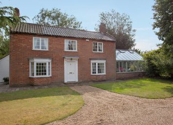 Thumbnail 4 bed detached house for sale in Mill Road, Kirby Cane, Bungay