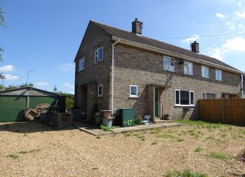 Thumbnail 3 bed semi-detached house for sale in Chapel Lane, Wimbotsham, King's Lynn