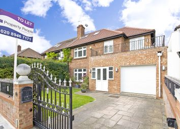 Thumbnail 4 bed semi-detached house to rent in Burnell Avenue, Richmond