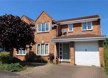 Thumbnail 4 bed detached house for sale in Crabtree Copse, Peatmoor, Swindon