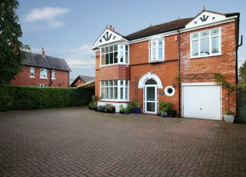 Thumbnail 5 bed detached house for sale in Crewe Road, Crewe, Cheshire