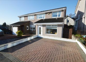 Thumbnail 3 bed semi-detached house for sale in Meadowbank Avenue, Strathaven