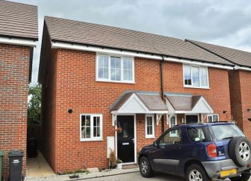 Thumbnail 2 bed semi-detached house for sale in Hawthorn Close, Honeybourne, Evesham