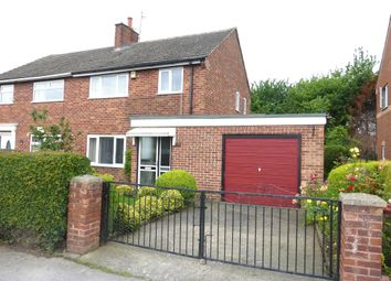 Thumbnail 3 bed semi-detached house for sale in Wesley Avenue, Aston, Sheffield