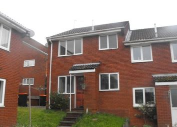 Thumbnail 1 bed end terrace house to rent in Parkwood Drive, Bassaleg, Newport