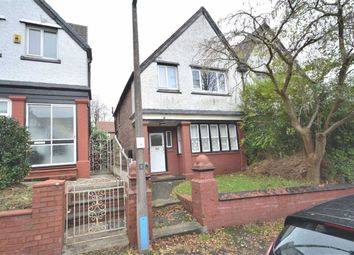 Thumbnail 3 bed semi-detached house to rent in Rochester Avenue, Prestwich, Manchester