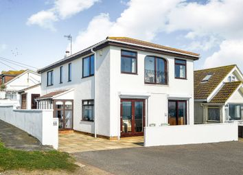 Thumbnail 4 bed detached house for sale in The Promenade, Peacehaven
