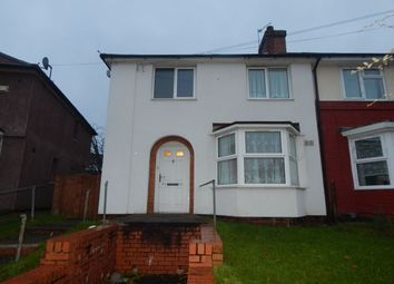 Thumbnail 1 bed flat to rent in Borrowdale Road, Northfield, Birmingham