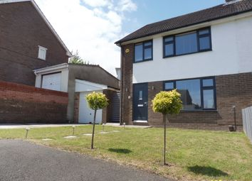 Thumbnail 3 bed semi-detached house for sale in Waverley Close, Llandough, Penarth