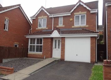 Thumbnail 4 bed detached house to rent in Monarchy Close, Rugeley