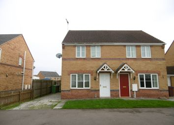 Thumbnail 3 bed semi-detached house to rent in Lings Crescent, North Wingfield, Chesterfield