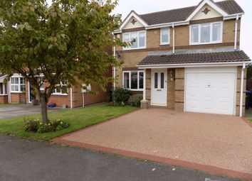 Thumbnail 4 bed detached house for sale in Railway Close, Sherburn Village, Durham