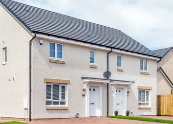 """Thumbnail 3 bedroom semi-detached house for sale in """"Traquair"""" at Kirkintilloch, Glasgow"""