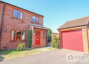 Thumbnail 3 bed semi-detached house for sale in Hillrise Close, Worlingham, Beccles