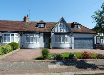 Thumbnail 4 bed detached bungalow for sale in Manorway, Bush Hill Park, Enfield