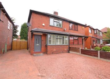 Thumbnail 2 bed semi-detached house for sale in Longford Road West, Stockport