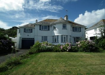 Thumbnail 6 bed detached house to rent in Marine Drive, Hannafore, West Looe