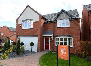 Thumbnail 5 bedroom detached house for sale in Henhurst Hill, Burton-On-Trent