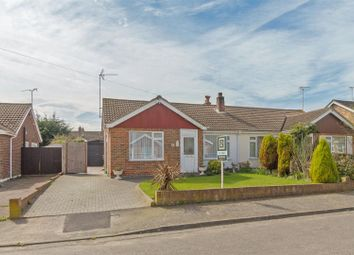 Thumbnail 2 bed semi-detached bungalow for sale in Chegworth Gardens, Tunstall, Sittingbourne