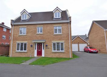 Thumbnail 5 bed town house for sale in Stroud Way, Weston-Super-Mare
