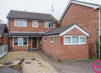 Thumbnail 4 bed detached house for sale in Bishopstone Close, Cheltenham