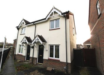 Thumbnail 2 bed semi-detached house for sale in Hallcroft Chase, Highwoods, Colchester